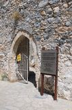St. Hilarion Fortress - entrance Stock Images