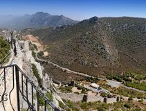 St. Hilarion Fortress Royalty Free Stock Images