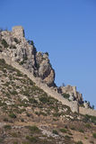 St Hilarion -Turkish Republic of Northern Cyprus. The medieval castle of St Hilarion in the Turkish Republic of Northern Cyprus stock photos