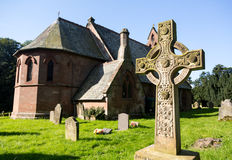 St Hilary Church Erbistock by River Dee Stock Image