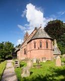 St Hilary Church Erbistock by River Dee Stock Photos