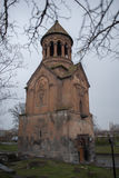 St. Holy Mother of God Church in rainy day Royalty Free Stock Photos