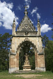 St. Hubert Chapel en el paisaje cultural de Lednice-Valtice fotografía de archivo