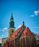 St huwde Kerk, Berlijn, Duitsland stock fotografie