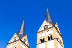 St. Iglesia del florín, Koblenz, Alemania Foto de archivo