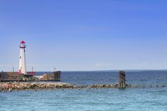 St Ignace light house Stock Photography