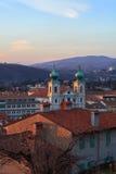 St. Ignatius cathedral, Gorizia Royalty Free Stock Images