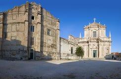 St Ignatius church in Dubrovnik Stock Images