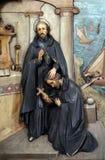 St Ignatius invia il san Francis Xavier nella missione Fotografia Stock Libera da Diritti
