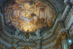 St. Ignatius of Loyola church Royalty Free Stock Image
