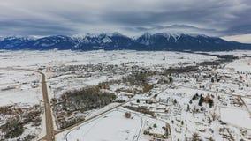 St Ignatius, Montana Fotografía de archivo