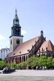 St, a igreja de Mary em Berlim foto de stock