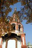 St. Igreja ortodoxa do russo da manjericão fotografia de stock royalty free