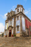 St Ildefonso Church, Porto, Portugal Stock Photography