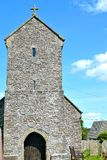 st Illtyds教会在Brynithel在威尔士,英国 免版税库存照片
