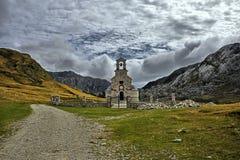 St Ilya kościół Montenegro Zdjęcia Stock
