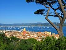 St. impressionante Tropez foto de stock royalty free
