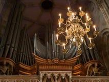 St intérieur Stephens Cathedral, Vienne, Autriche photo stock