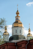 St. Intercession Monastery in Kharkiv, Ukraine Stock Images