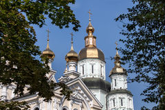 St. Intercession Monastery in Kharkiv, Ukraine Royalty Free Stock Images
