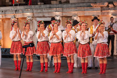 21-st international festival in Plovdiv, Bulgaria Royalty Free Stock Image