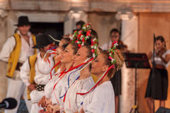 21-st international festival in Plovdiv, Bulgaria Stock Image