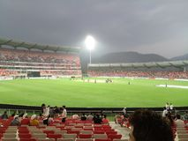 Rajiv Gandhi international cricket stadium stock photos