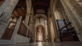 St interno Lawrence Church, Rotterdam Imagem de Stock Royalty Free