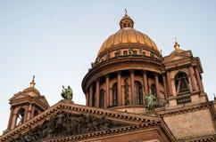 ST Isaac Cathedral στην Πετρούπολη στοκ φωτογραφία με δικαίωμα ελεύθερης χρήσης