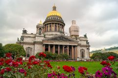 St Isaac Cathedral royalty-vrije stock afbeelding