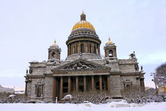 St. Isaac Cathedral Royalty Free Stock Photo
