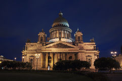 St Isaac Cathedral Royalty Free Stock Photography