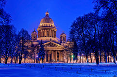 St Isaac Cathedral in Saint Petersburg, Russia Stock Image