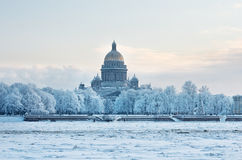 St Isaac Cathedral in Saint Petersburg, Russia. Royalty Free Stock Photography