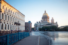 St. Isaac Cathedral in Saint-Petersburg Stock Photos
