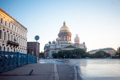 St. Isaac Cathedral in Saint-Petersburg Royalty Free Stock Image