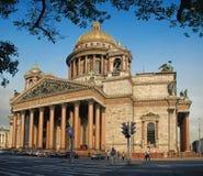 St Isaac Cathedral in San Pietroburgo Immagini Stock Libere da Diritti