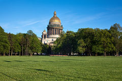 St.Isaac cathedral, Sankt-Peterburg,Russia stock photo