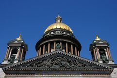 St Isaac Cathedral in St Petersburg Stock Photography