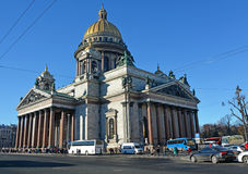 St. Isaac cathedral in St. Petersburg Royalty Free Stock Photos