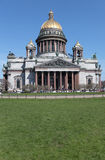 St, Isaac Cathedral in St. Petersburg Royalty Free Stock Photo