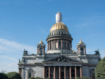 St. Isaac cathedral in St. Petersburg, Russia. Royalty Free Stock Photo