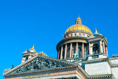 St. Isaac katedra obraz royalty free