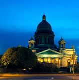 st.Isaac katedra, sankt-Peterburg, Rosja fotografia stock
