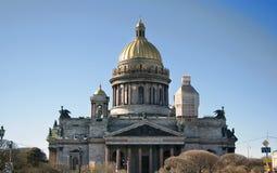 St. Isaac katedra w St. Petersburg Zdjęcie Royalty Free