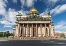 St Isaac Kathedraal Stock Afbeelding