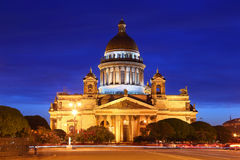 St. Isaac Kathedraal heilige-Petersburg Royalty-vrije Stock Foto's