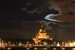 St. Isaac Kathedraal, St. Petersburg, Rusland Royalty-vrije Stock Afbeelding