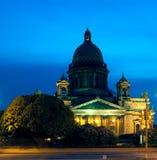 St.Isaac Kathedrale, Sankt-Peterburg, Russland Stockfotografie