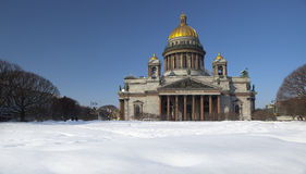 St Isaac's Cathedral. Stock Photos